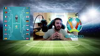 IL TABELLONE DEGLI OTTAVI DI FINALE EURO 2020