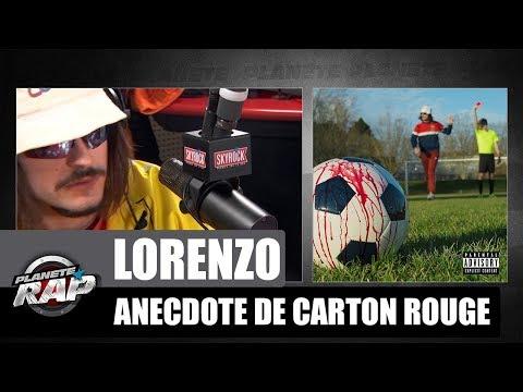 Anecdote de Lorenzo du morceau 'Carton rouge' #PlanèteRap