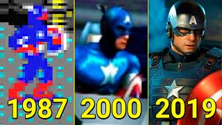 Evolution of Captain America in Games 1987-2020