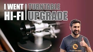 I UPGRADED TO A $1600 TURNTABLE!!! | RECORD PLAYER SETUP