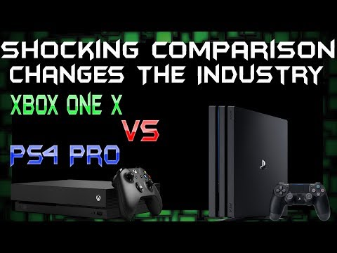 A Dev's Shocking Comparison Between PS4 Pro And Xbox One X Surprises Everyone!
