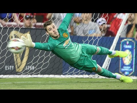 David De Gea - All Crazy Saves & Distributions Manchester United HD