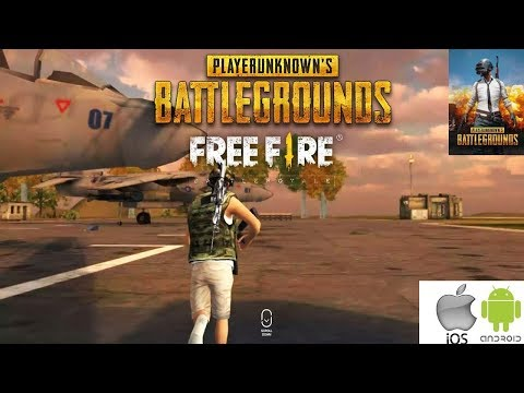 FREE FIRE (Клон PLAYERUNKNOWN'S BATTLEGROUNDS (PUBG)) - обзор (Android Ios)
