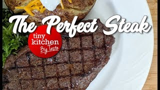 How to Cook the Perfect Steak // Tiny Kitchen Big Taste