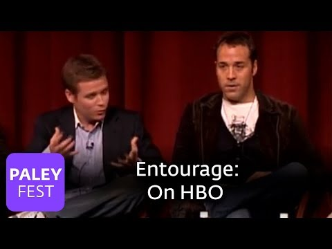 Entourage - Jeremy Piven & Kevin Connolly on HBO (PaleyFest 2006)