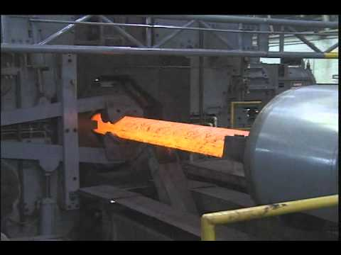 Forging Operations at the Army's manufacturing center in Watervliet, New York