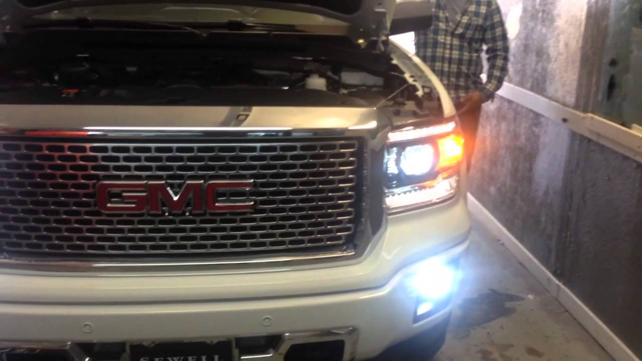 Auto Impressions - GMC DENALI TRUCK HIDS TOP LEDS IN THE ...