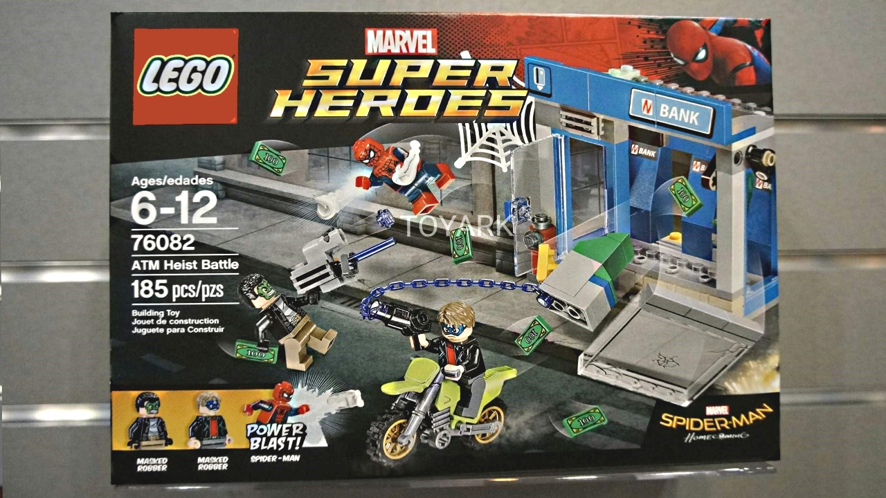 LEGO Spider Man Homecoming Sets Pictures