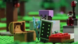 lEGO Minecraft 21143 Портал в Подземелье Обзор на Лего Майнкрафт