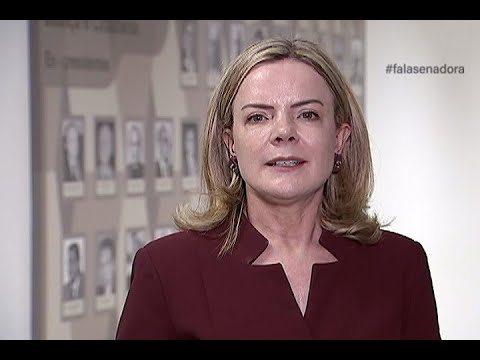 #falasenadora: Gleisi comenta importância do Sistema Único de Segurança Pública