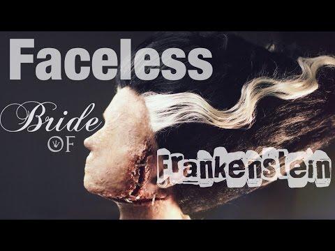 Faceless Bride of Frankenstein Makeup Tutorial