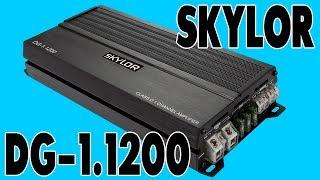 Одноканальный сабвуферный усилитель SKYLOR DG-1.1200, распаковка, обзор, замер мощности