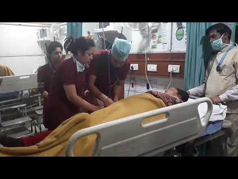 Yashoda Hospital, Nehru Nagar, Ghaziabad, Stroke Management And Thrombolysis Demo By Neuro Team