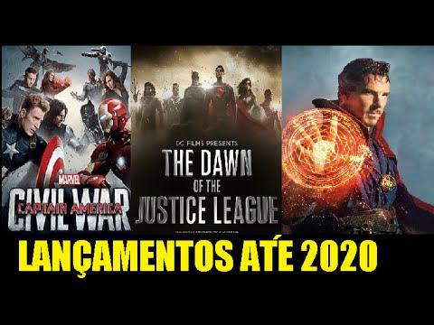 Lista Lançamentos de Filmes até 2020