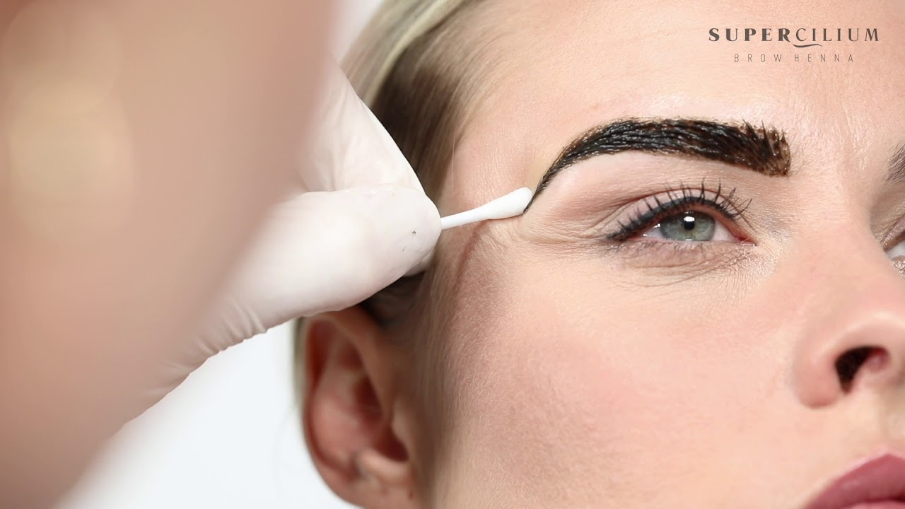 Eyebrow Henna: How To Use Brow Henna. Instruction Video By Supercilium