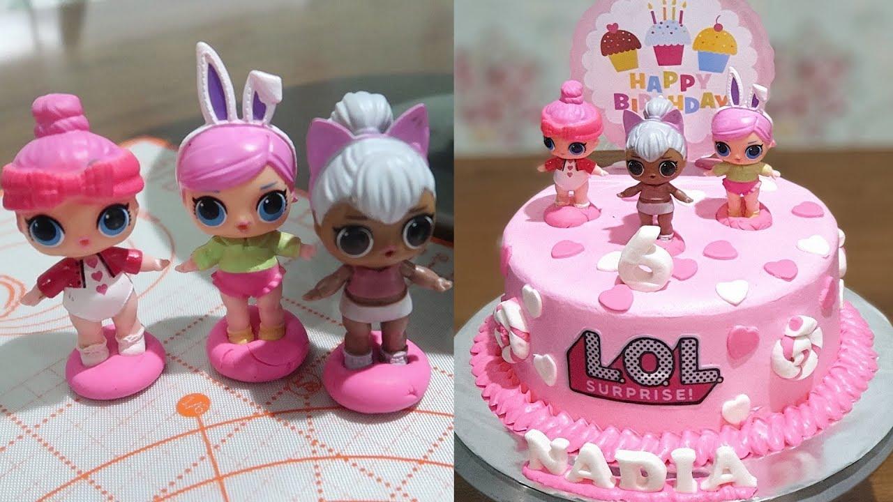 Birthday Cake For Girls Lol Surprise