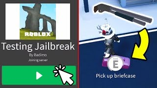 PLAYING THE NEW JAILBREAK UPDATE EARLY! (Roblox Jailbreak New Update)