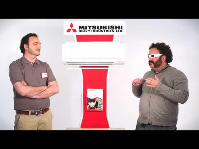 Aire Acondicionado Mitsubishi Heavy Ind.: Función 3D: mayor confort
