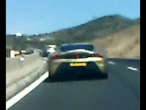 c2 1.4i vtr CB splntr & Ferrari ? + Audi R8 190km/h + + (2)