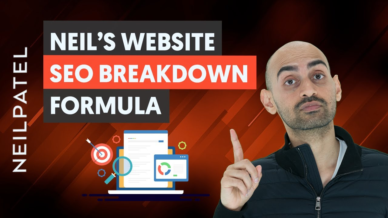 Here's How You Assess and Improve a Website's SEO - Neil Patel's Website SEO Breakdow