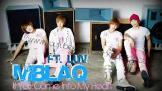 d l lyrics mblaq ft c luv if you let me into your heart