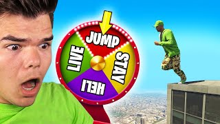 MYSTERY WHEEL Controls LIFE In GTA 5! (Challenge)