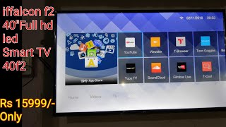"""iffalcon f2(40"""") full hd led smart tv 40F2  unboxing & overview"""