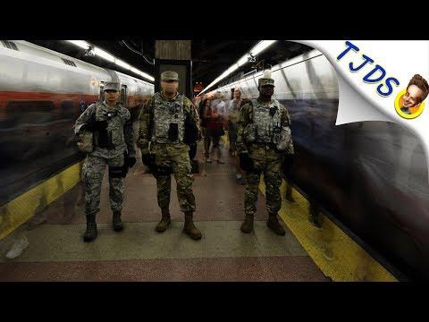 NY Subway Bomber Fails - Only Hurts Self