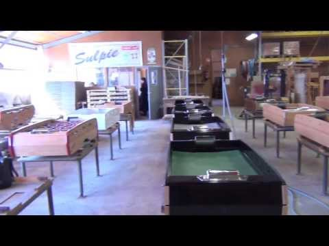 Sulpie Football Table Factory Tour