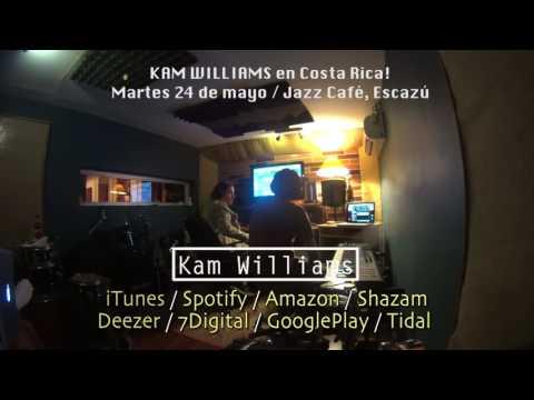 Kam Williams   jazz cafe promo
