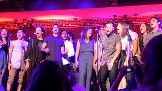 Newsies Reunion Once And For All - 54 Below August 28th 2015 Corey Cott