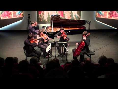 The Quartet Gerhard and Nikita Mndoyants play Schumann's piano quintet