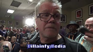 FREDDIE ROACH DISSECTS TYSON FURY'S PERFORMANCE AGAINST DEONTAY WILDER, REACTS TO DRAW