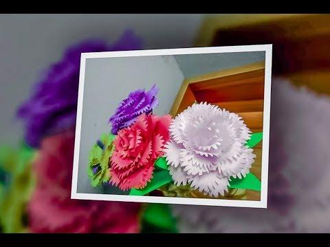 Download Paper Rose How To Make A Paper Flower Kagoj Er Golap Ful