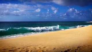 Relax! Ocean Waves Seaside Ambience   for Stress Relief   White Noise Surf Sounds in Hawaii 10 Hours