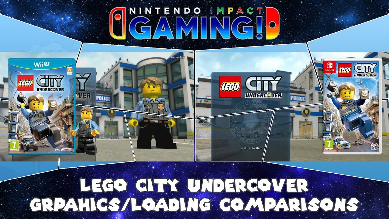 Lego City Undercover Nintendo Switch Co Op Issues Youtube