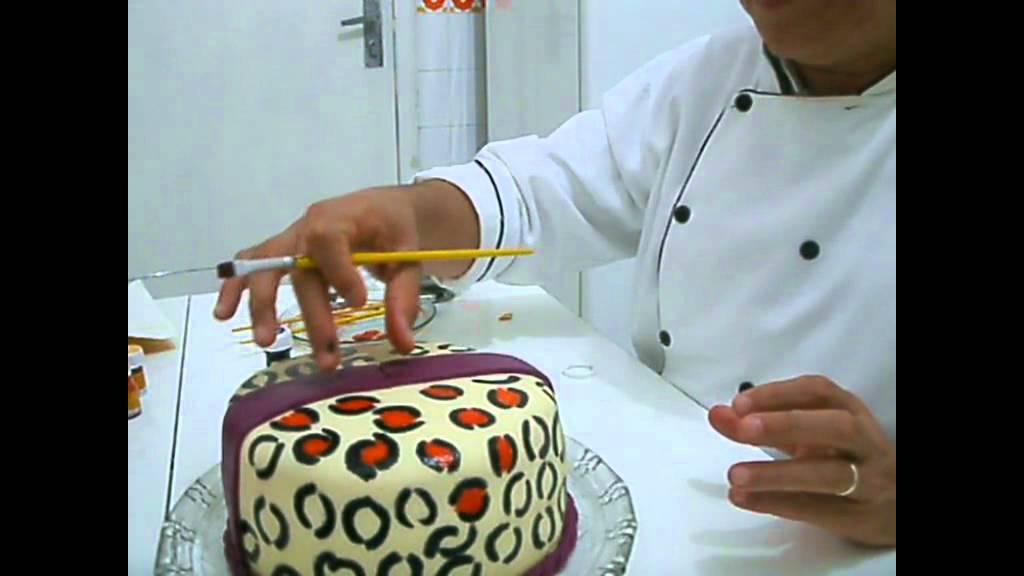 Suficiente Bolo de onça - Jaguar cake - YouTube KY55