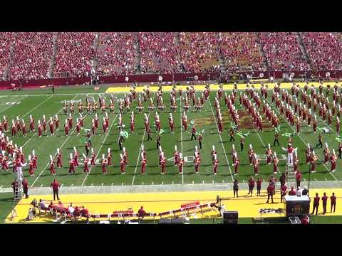 Iowa State University Marching Band - Summer of Love (1967) Halftime Show - Sept. 9, 2017