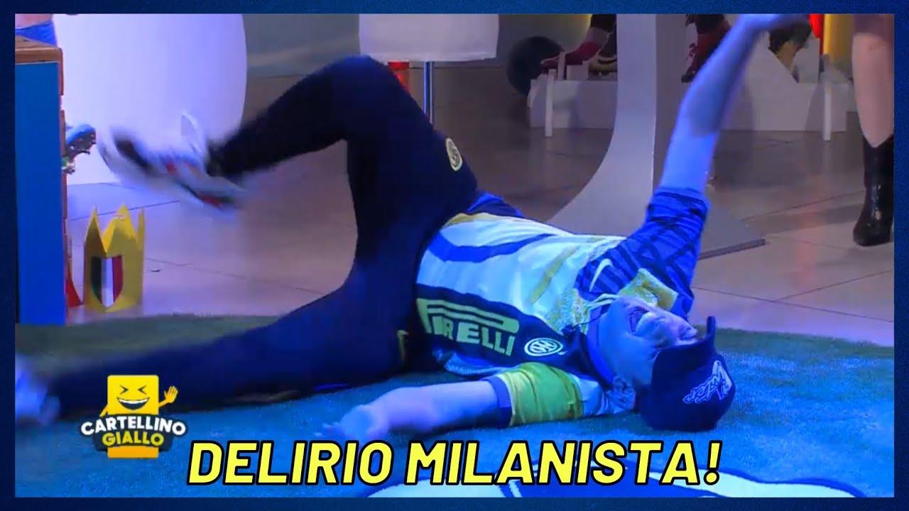 MASTRANGELO PRIMA STRAMAZZA AL SUOLO POI ABBANDONA LO STUDIO!