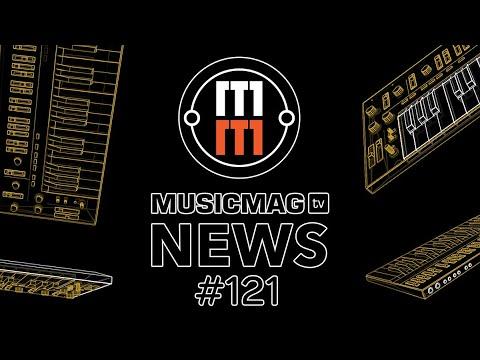 MUSICMAG TV NEWS #121: Bass Station II - прошивка от AphexTwin, Superlative Space Bee и др.