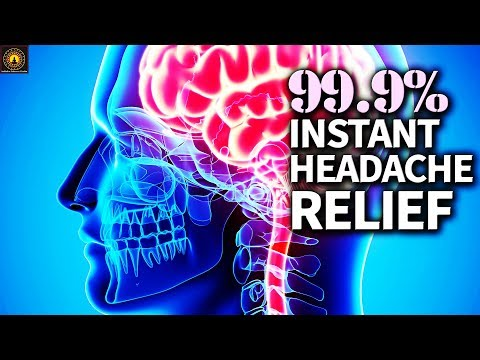POWERFUL Migraine Headache Relief - REALLY WORKS | Stress Relief Binaural Beats