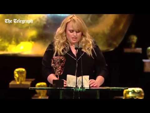 Rebel Wilson calls Oscars racist in hilarious Bafta speech