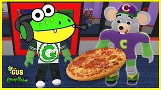 Let's Play ROBLOX Chuck E Cheese with Gus the Gummy Gator