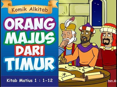 ORANG MAJUS DARI TIMUR - film animasi cerita alkitab anak kristen sekolah minggu gereja Tuhan Yesus