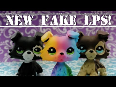 LPS~NEW FAKE LPS COLLIES?!  Fake LPS Review!