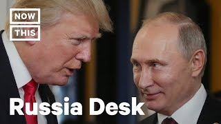 Is Trump Really Soft on Russia?   The Russia Desk   NowThis