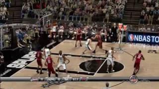 NBA 2k8 Gameplay