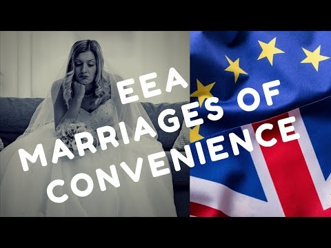 EEA Marriages of Convenience