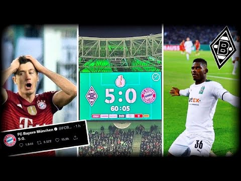 Gladbach 5-0 Bayern Munich: Initial reactions and observations from ...
