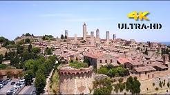 San Gimignano / Toskana - Das Manhattan des Mittelalters - 4K Ultra-HD
